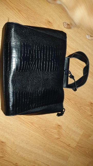 Skórzana torebka A4