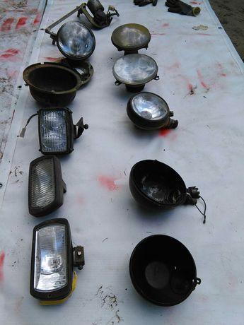 Starocie PRL halogen lampa zelmot szperaczz prl