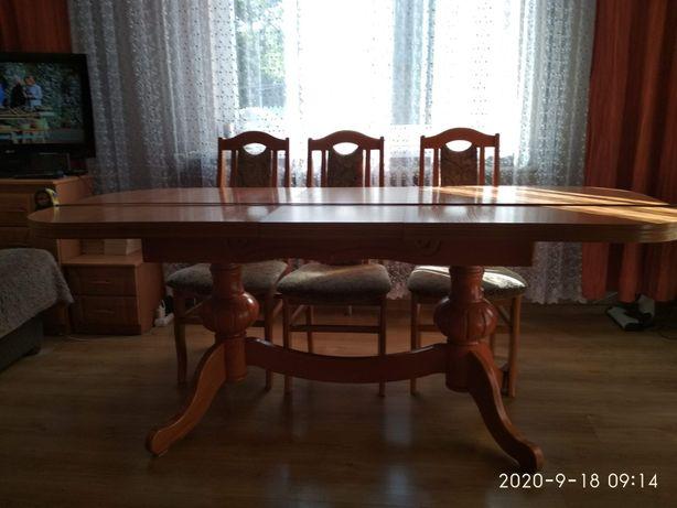 Stół rozkładany, bez krzeseł