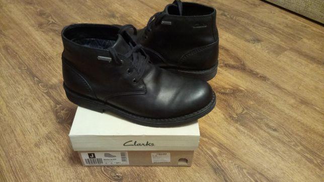Ботинки Clarks Martlan UP GTX натуральная кожа мембрана Gore-tex