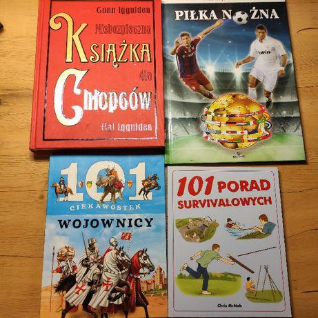 Zestaw książek dla chłopców