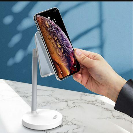 Uchwyt podstawka do telefonu lub Tabletu wygodny do wideo rozmów