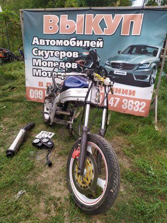 Honda Cbr 250 mc19 Разборка мотоциклов рама с документами есть 2 мотор