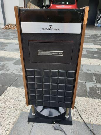 Crowncorder Solid State stary prl japoński radiomagnetofon