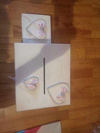 Skrzynka na koperty i na obrączki