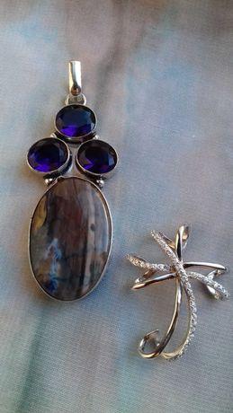 Colares, brincos e pendentes em prata