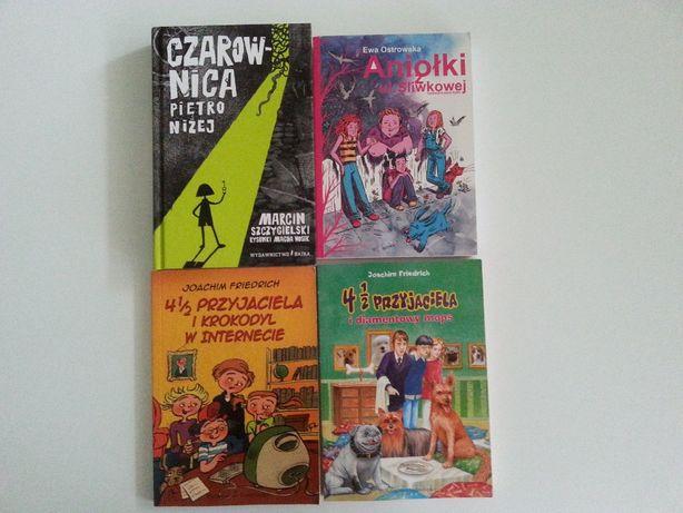 """4 książki w cenie 3- """"Czarownica piętro niżej"""" i inne."""