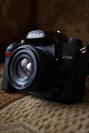 Nikon d7000 +объектив
