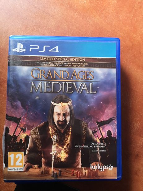 Grand Ages Medieval Ps4 Lombard Dzik