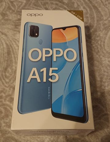 Smartfon Oppo A15 Nowy!