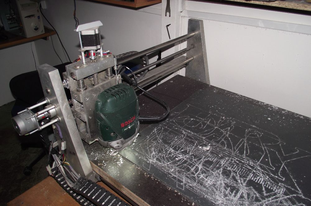 frezarka CNC z komputerem i oprogramowaniem Ruciane-Nida - image 1