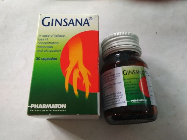 Гинсана GINSANA 30 капсул
