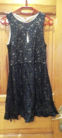 Sukienka koronka chrzciny komunia wesele