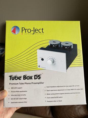 Pro-Ject Tube Box DS (czarny) przedwzmacniacz gramofonowy
