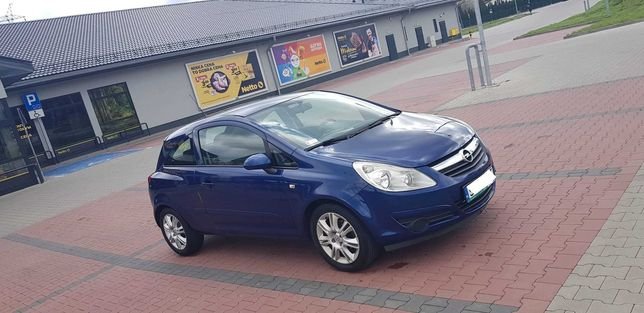 Opel Corsa 2007r, Klimatyzacja, 2 właściciel, LPG-GAZ, Nowy rozrząd