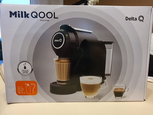 Ekspres do kawy DELTA milk qool evolution