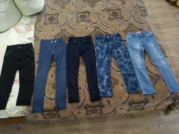 Детские штаны, лосины, юбка, свитера