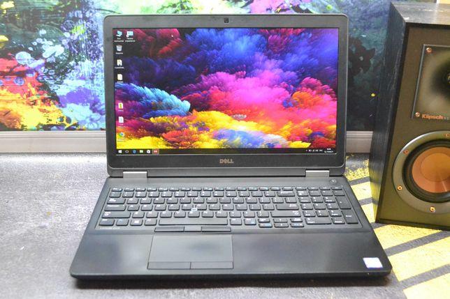 Dell latitude E5570/Intel i5-6440HQ/8GB/250GB SSD/Radeon R7 M370/FHD!