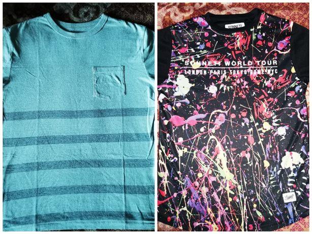 2 t-shirty chłopięce 13 lat