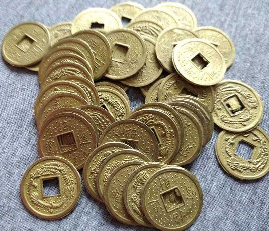 Metalowe monety do gier - azjatyckie