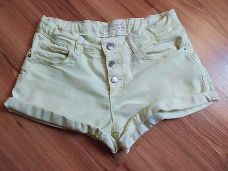 Шорты джинсовые Zara для девочки 9-10 лет