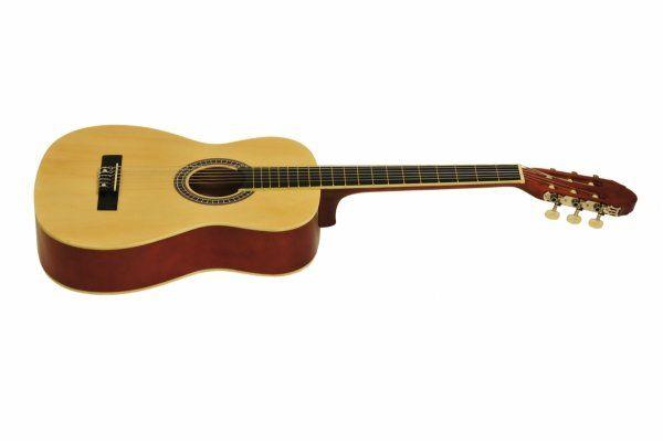 Gitara Klasyczna CG-1 Naturalna 4/4+pokr+tuner