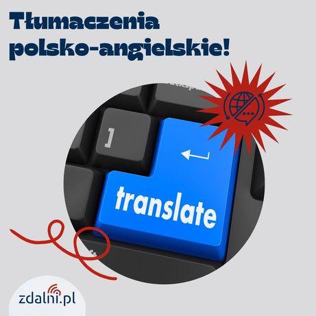 Tłumaczenia polsko-angielskie