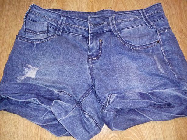 Spodenki rozmiar 34 jeansowe