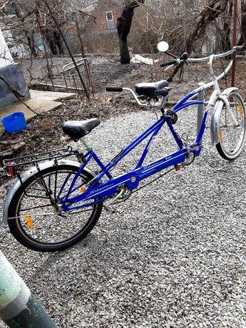 Тандем вело. Schwinn