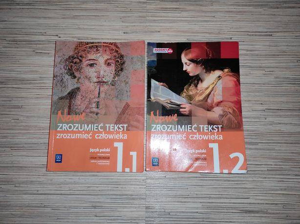 Podręczniki do j.pol - Zrozumieć tekst, zrozumieć człowieka 1.1 1.2