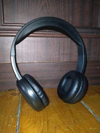 Słuchawki bezprzewodowe czarne