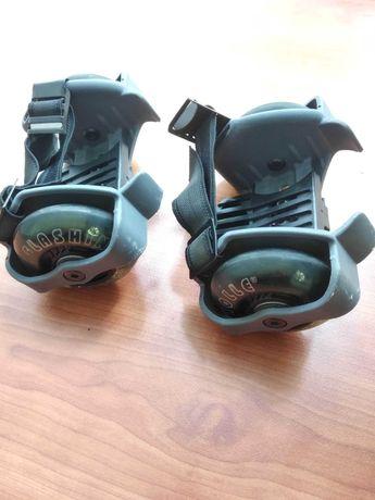 Светящиеся ролики, на кроссовки