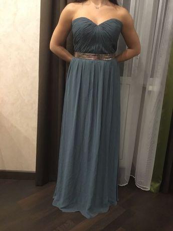 Вечернее платье в пол на выпускной / праздник