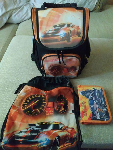 Рюкзак школьный,сумка и пенал, мальчик