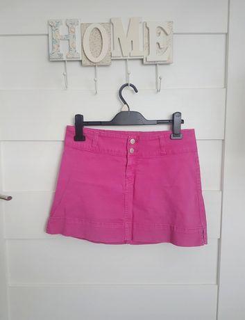 różowa spódniczka vintage