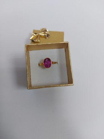 Złoty pierścionek z oczkiem, próba 585