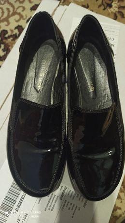 Туфли на высокой подошве,кожа 39 р