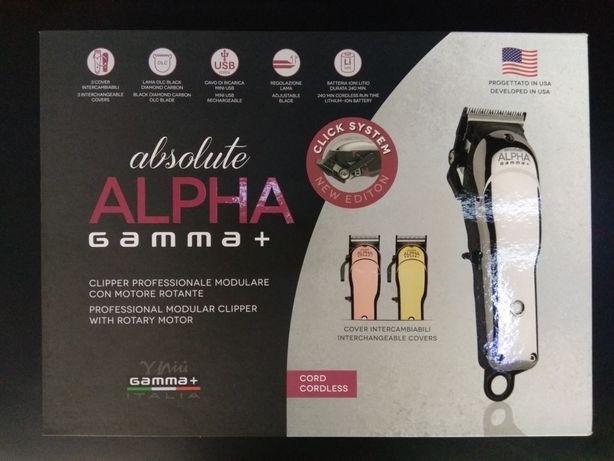 Машинка для стрижки Gamma Alpha absolute