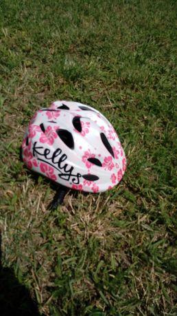 Kask rowerowy dziecięcy KELLYS dla dziewczynki