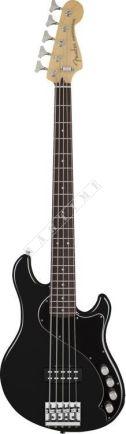 Fender Deluxe Dimension Bass V RW Black + GRATISY - gitara basowa