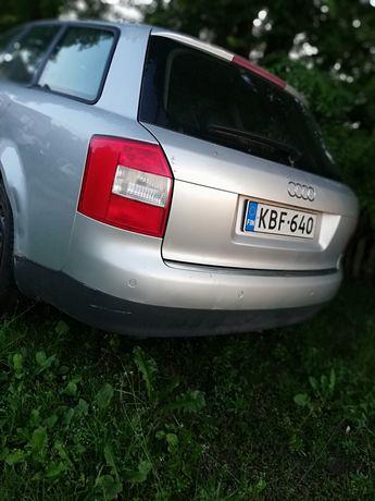 Zderzak tył Audi a4b6 kombi LY7W z oryginalny pod czujniki cofania par