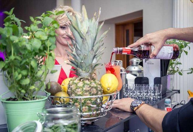 Barman na wesele,urodziny,itp. Mobilny bar Usługi barmańskie