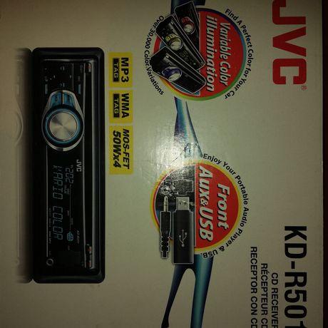 radio CD/USB/MP3 Moc4 x 40 W  DźwiękCD Audio, CD-R, CD-RW, MP