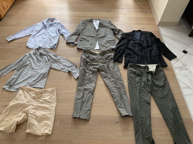 Два костюма и рубашки, мужская деловая одежда комплект