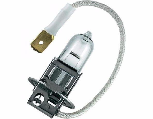 Лампа автомобильная: H3 12v 55w (2шт.) H3 12v 100w (1шт.)