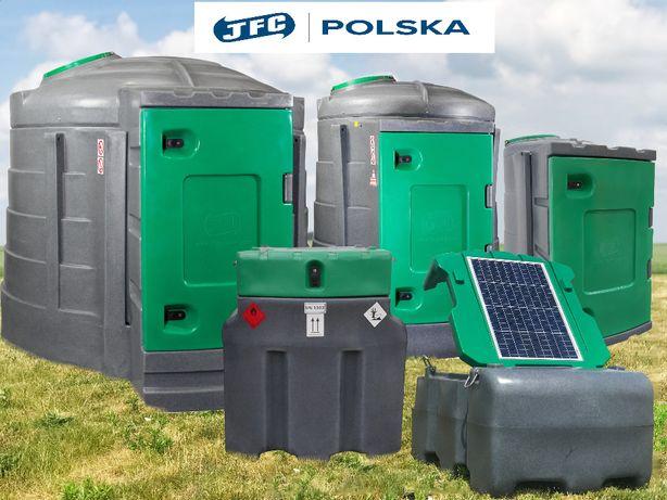 Zbiornik na ropę 1600l JFC Dwupłasczowy Olej napędowy Promocja !!!