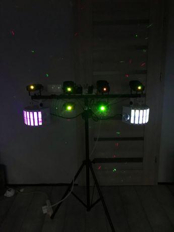 Oświetlenie / lasery / światła / statyw