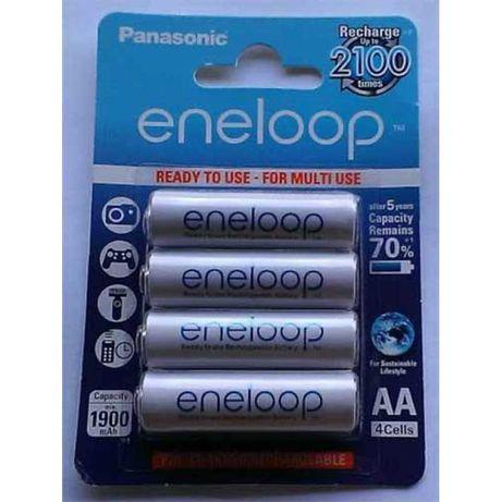 Аккумуляторы Panasonic AA 1900mAh NiMh 4шт Eneloop (BK-4MCCE/4BE)