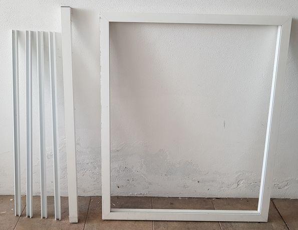 Marquise alumínio + vidros