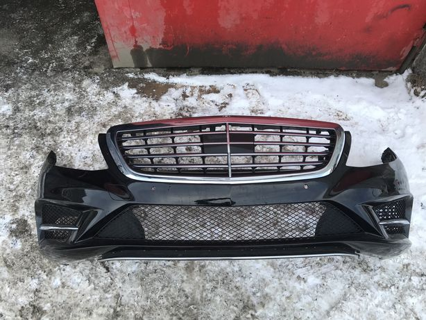 Бампер передний AMG для w222 Mercede-Benz S-класс мерседес